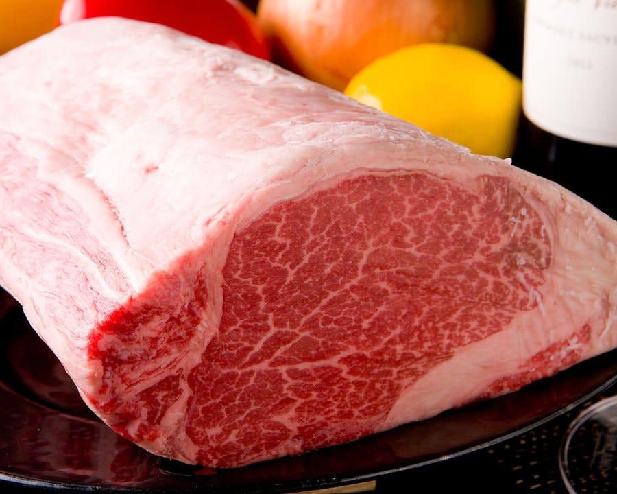 こだわりのお肉