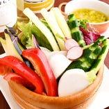 お肉に合うシャキシャキ新鮮旬お野菜【東京都】
