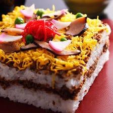 丹後名物「ばら寿司」