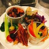 お野菜の前菜5種