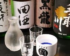 日本酒や焼酎の種類が豊富!!