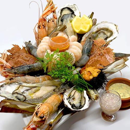 魚介料理各種