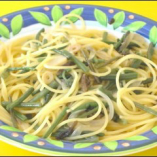 醤油味の山菜