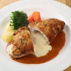 豚ロース肉のコルトンブルー