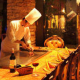 目の前で調理する、鉄板焼きの醍醐味!!
