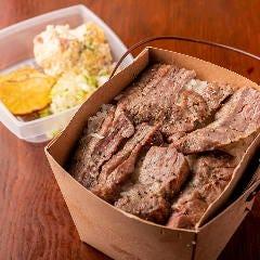 やわらか牛タン弁当※ご飯大盛り無料(ポテトサラダ、竹内さんのいぶりがっこ付き)