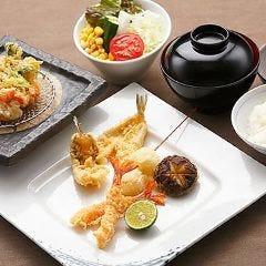 【ハゲ天スタンダードこーす 天ぷら7品】かき揚げが付いたハゲ天の定番こーす