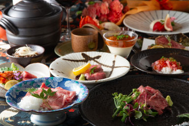 肉割烹 京  コースの画像