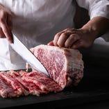 四季折々の食材を使用した肉料理をお楽しみ頂けます。