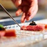 一品一品丁寧に作られたお料理を心ゆくまでお楽しみください。