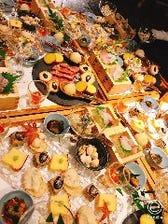 職人が活かした旬の食材のコース