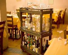 食後まで、イタリア気分を満喫しよう