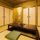 堀ごたつ式の個室