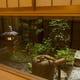 さる寺院の庭をイメージした坪庭