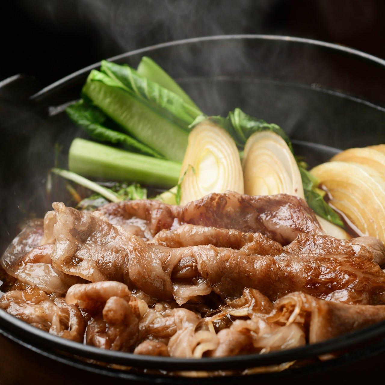 肉本来の旨味と割下のバランスが絶妙