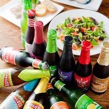 話題のベルギービール100種類以上☆