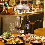 《スペイン宴会》 ワイン片手にスパニッシュ宴会はいかが?