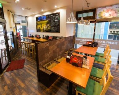 中国蘭州ラーメン 火焔山蘭州拉麺 池袋店 店内の画像