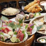 新鮮魚介でお座敷宴会!