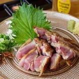 地鶏ムネ肉たたき
