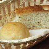 2】自家製パン