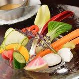 彩り新鮮野菜のバーニャカウダ