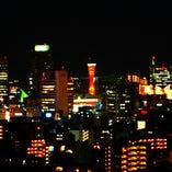 神戸の街が一望できるロケーション