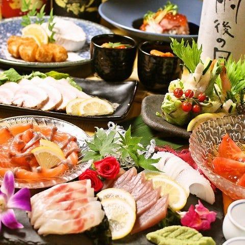 【2時間飲み放題付き】広島満喫コース!瀬戸内鮮魚の造里やカキフライ、選べる鍋等全7品5,000円※鍋あり