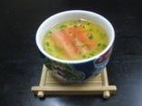 お椀 蟹茶碗蒸し 450円