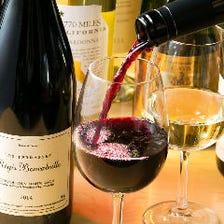 ワイン・日本酒にこだわっています!
