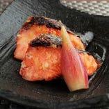 銀鮭味噌焼
