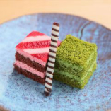 【一口ケーキ】苺&抹茶