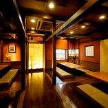 30名様まで着席可能の大型個室