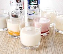 韓国のお酒も豊富