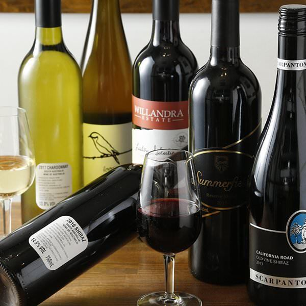オーナーが厳選したワインは全てオーストラリア産