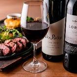 当店自慢のステーキやハンバーグなど…お料理と相性抜群のオーストラリアワイン