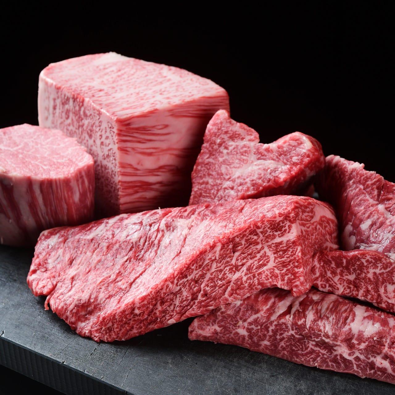 一流だけを。匠の仕事は肉選びから