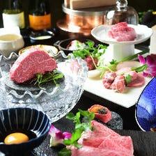 鉄板焼は集。焼肉は徳川苑。選べる贅