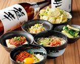 自慢のオリジナル逸品料理は旨い安いが基本の200円均一!