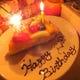 クーポンでお誕生日ケーキプレゼント