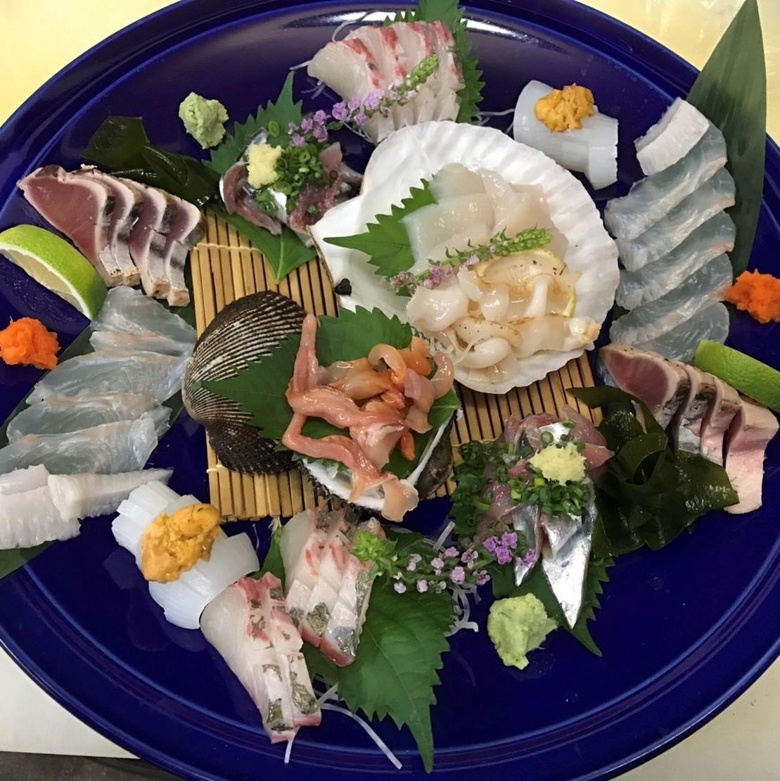 ■和食を中心とした絶品の海鮮料理