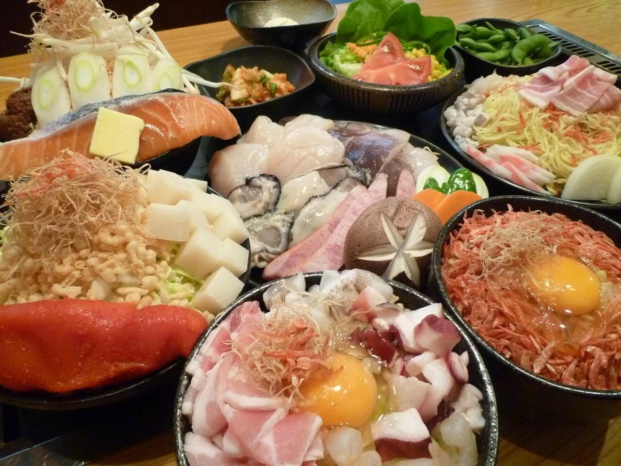このボリュームで何と1人1500円!宴会コース料理(一例)