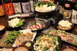 宴会コース4000円、5000円あります。