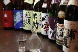 日本全国から、季節の日本酒あります。希少の酒も、、、