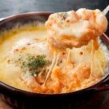 ■大好評■ 「ポテト明太子チーズ焼き」はアツアツをどうぞ!