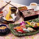 寿司ランチ「もてなし」