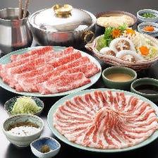 牛しゃぶ(又は国産豚しゃぶ)食べ放題