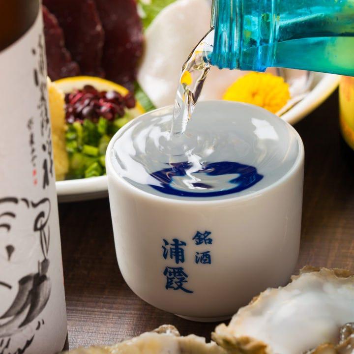 日本酒と鯨の組み合わせはベストマッチ間違いなし。