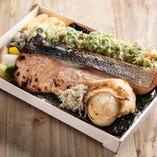 銀鮭のりべん【銀鮭の粕漬け焼】
