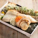 銀鱈のりべん【銀鱈の粕漬け焼】